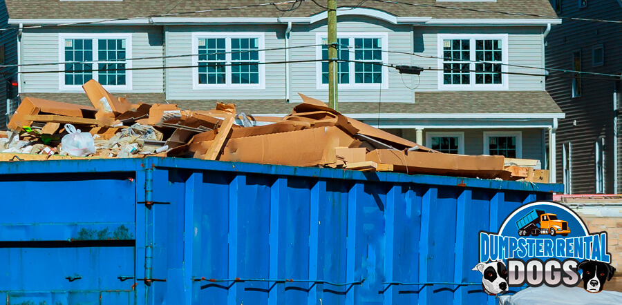 What you can and cannot put into a dumpster?