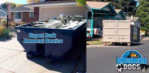Dumpster Rentals Damage Driveway