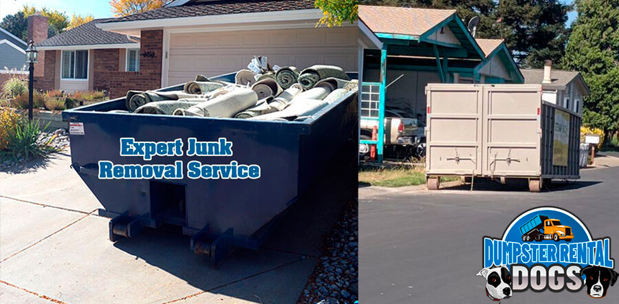 Will dumpster rentals damage the driveway?