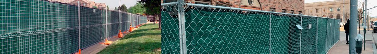 Temporary Fencing Keeps Onlookers Away
