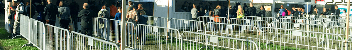 This Type of Fencing Helps Crowd Control