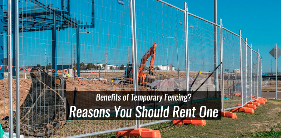 What Are the Benefits of Temporary Fence Panels?