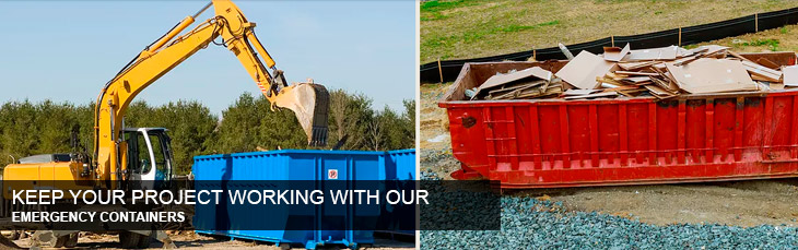 Keep Your Project Working With Our Emergency Containers