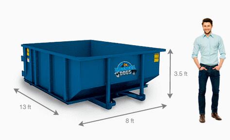 Best 10 Yard Roll off Dumpster
